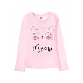 Лонгслив для девочки Jacket pink, розовый