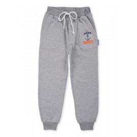Штаны для мальчика  Кул, серый меланж