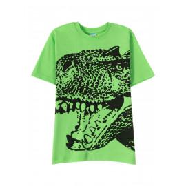 Футболка для мальчика Динозавр, зеленый