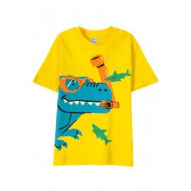 Футболка для мальчика Underwater Dino, желтый