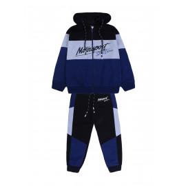 Костюм для мальчика Мотоспорт, темно-синий
