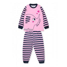 Пижама для девочки Слоник,  темно синий