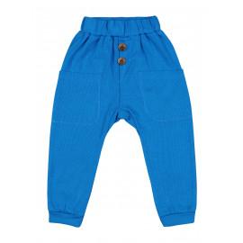 Штаны для мальчика Джоггеры, темно-голубой