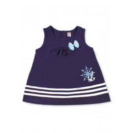 Платье для девочки Штурвал, темно-синий