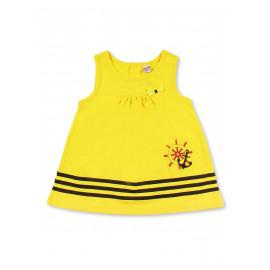 Платье для девочки Штурвал, желтый