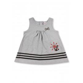 Платье для девочки Штурвал, серый