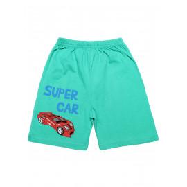Шорты для мальчика Суперкар, ментоловый