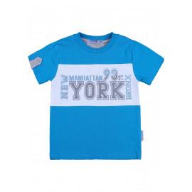Футболка для мальчика Йорк, бирюзовый