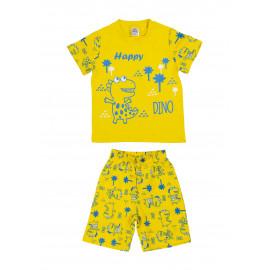 Костюм для мальчика Дино, желтый