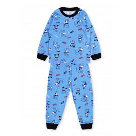 Пижама для мальчика Собачки, голубой