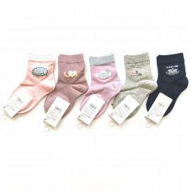 Носки для девочек Нежные, микс