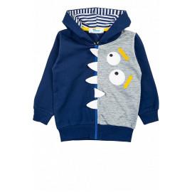 Куртка трикотажная Монстрик, темно-синий