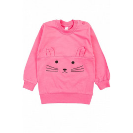 Джемпер для девочки Зайка, розовый