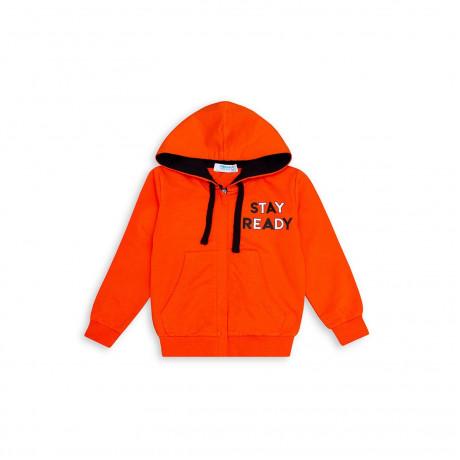 Куртка трикотажная Однотон, оранжевый