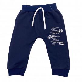 Штаны для мальчика Водитель, темно-синий
