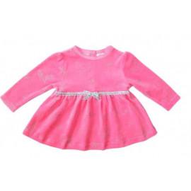 Платье велюровое для девочки, розовый