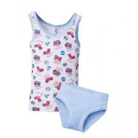 Комплект для мальчика Бибика, голубой