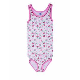 Комплект для девочки Цветочки, розовый
