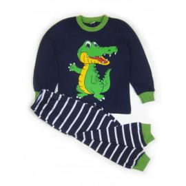 Пижама для мальчика Кроко, темно-синий