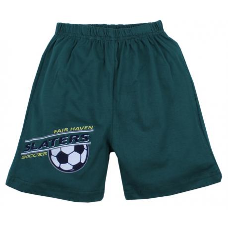 Шорты для мальчика Футбол, темно-зеленый