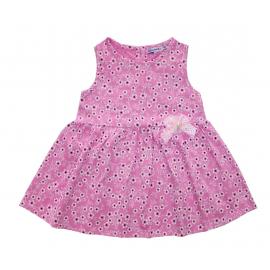 Платье для девочки Цветочки, розовый
