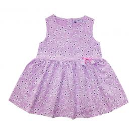 Платье для девочки Цветочки, сиреневый