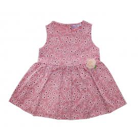 Платье для девочки Цветочки, коралловый