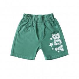 Шорты для мальчика Бой, зеленый