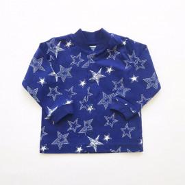 Кофточка для малышей Звезды, темно-синий