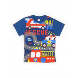 Футболка для мальчика 911, синий