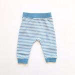 Штанишки для малышей Полоски, джинс