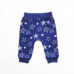 Штанишки для малышей Звезды, темно-синий