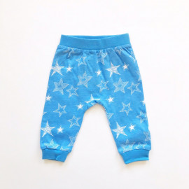 Штанишки для малышей Звезды, голубой
