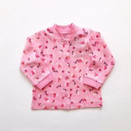 Кофточка для малышей Цветочки, розовый