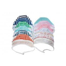 Чепчик для новорожденных одинарный, ассорти