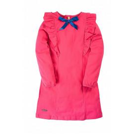 Платье для девочки с бантиком, малиновый