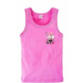 Майка для девочки Слоник, розовый
