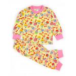 Пижама для девочки Кексики, бежевый