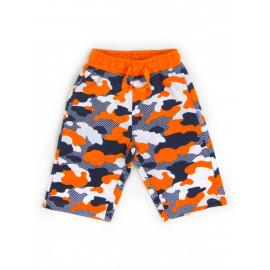 Бриджи для мальчика Милитари, оранжевый