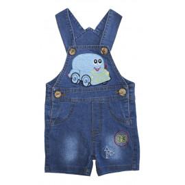 Полукомбинезон для мальчика джинсовый, синий
