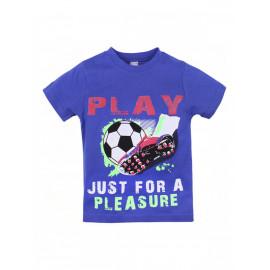 Футболка для мальчика Играй, электрик