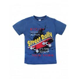 Футболка для мальчика Стритралли, синий