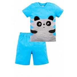 Костюм для мальчика Панда, голубой
