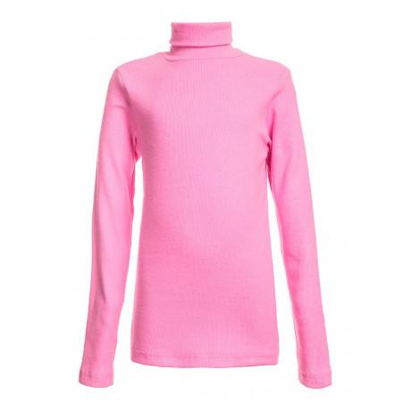 Водолазка однотонная кашкорсе, розовый