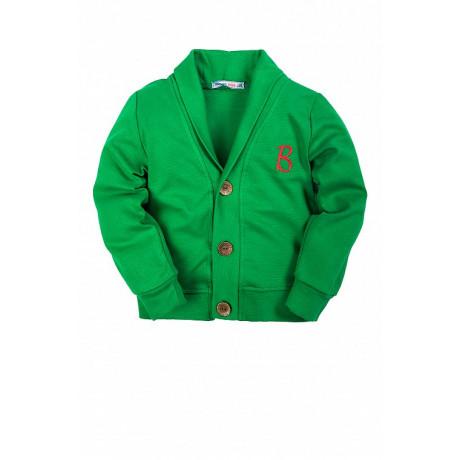 Кардиган для мальчика В, зеленый