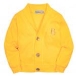 Кардиган для мальчика В, желтый