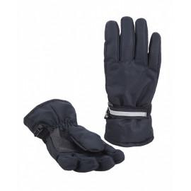 Перчатки детские Мембрана р-р 6-8 лет, черный