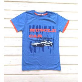 Футболка для мальчика Бигтрабл, синий