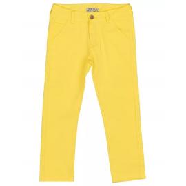 Брюки для девочки, желтый