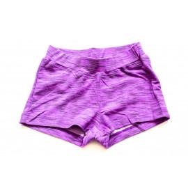 Шорты для девочки Рябь, фиолетовый